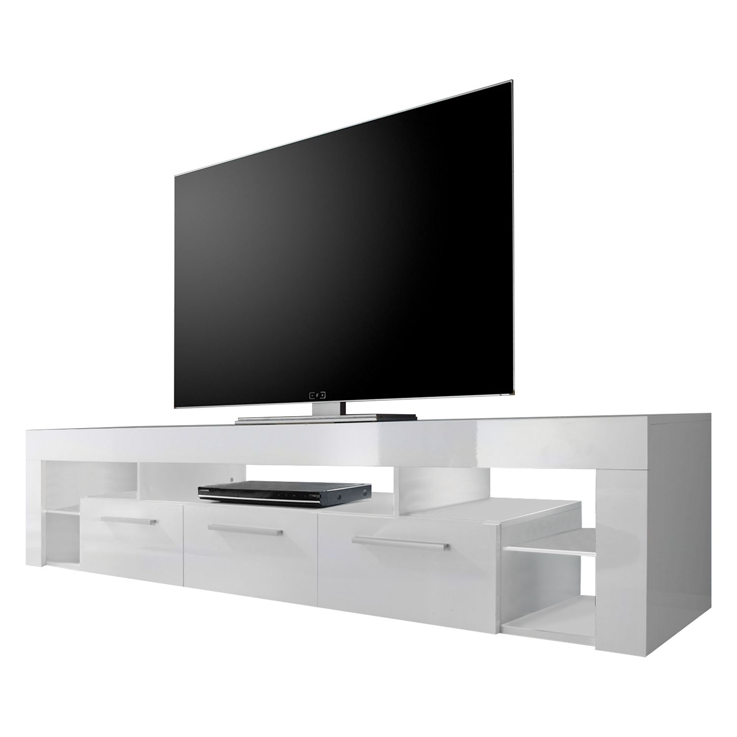 hoogglans lowboard kopen online internetwinkel. Black Bedroom Furniture Sets. Home Design Ideas