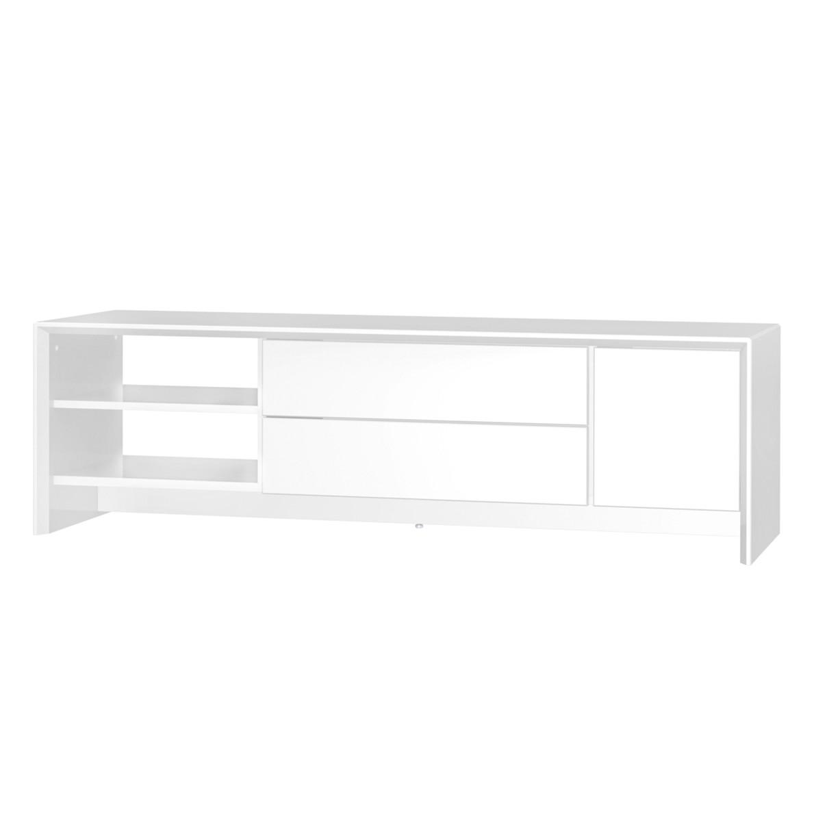 TV-Lowboard Profil II - Weiß, Tenzo