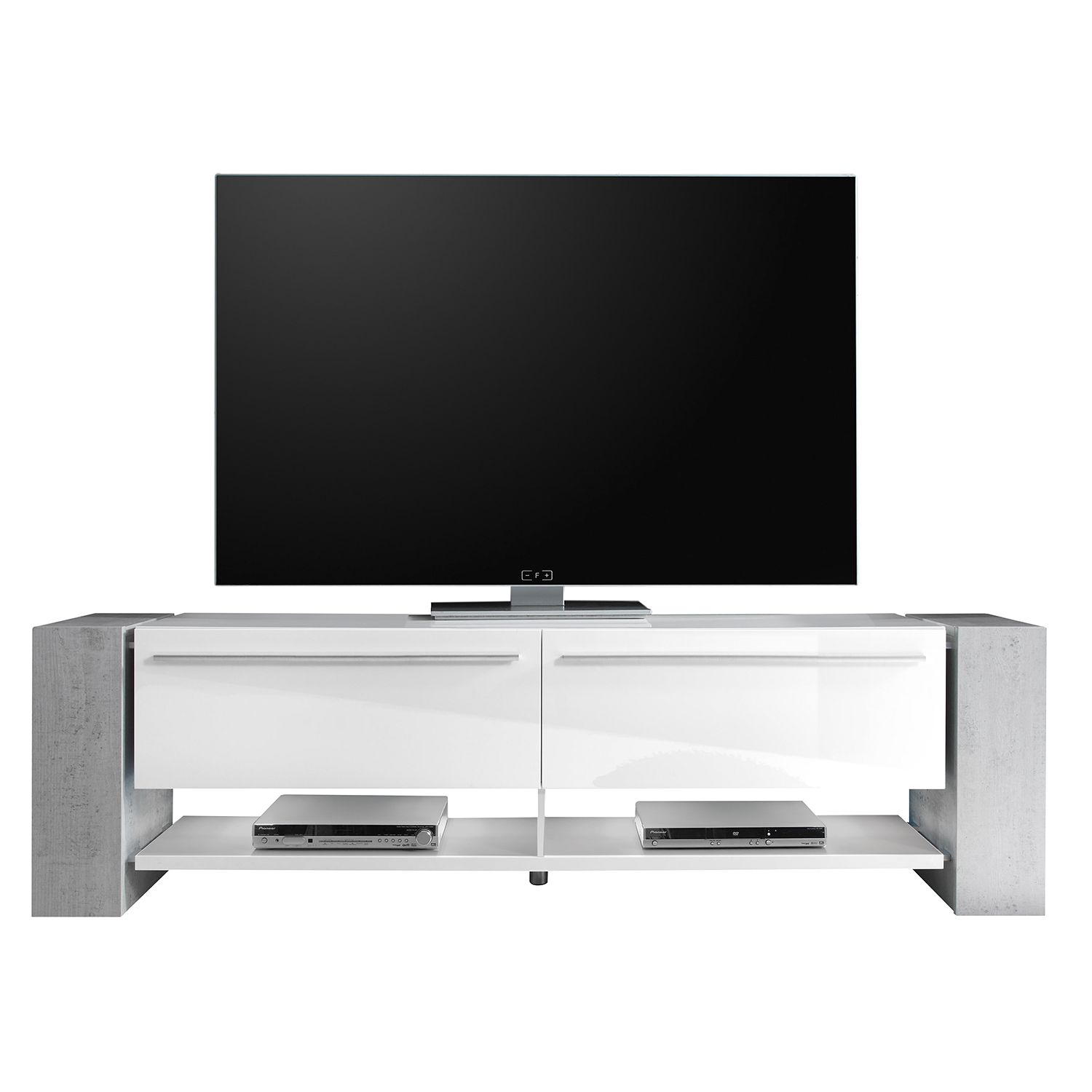 tv lowboard weiss hochglanz preisvergleiche erfahrungsberichte und kauf bei nextag. Black Bedroom Furniture Sets. Home Design Ideas