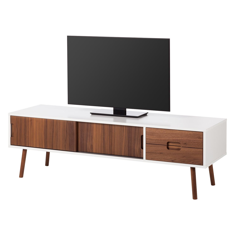lowboard weiss nussbaum preisvergleich die besten. Black Bedroom Furniture Sets. Home Design Ideas