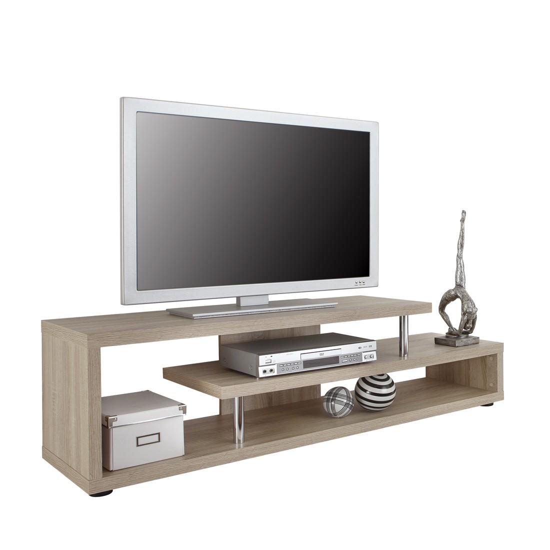 Meuble TV Wasco - Chêne de Sonoma, roomscape