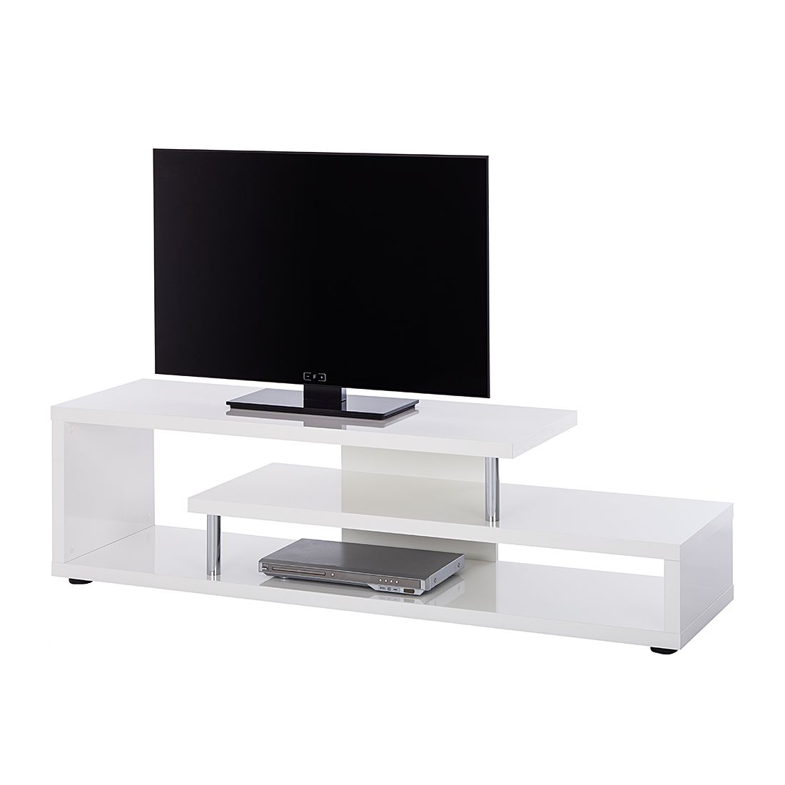 Mobile TV Wasco - Bianco lucido, roomscape