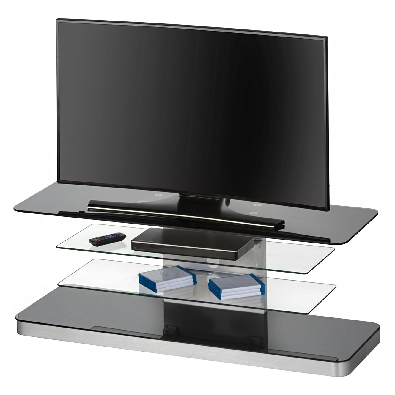 tv rack iserlohn schwarz maja m bel g nstig schnell einkaufen. Black Bedroom Furniture Sets. Home Design Ideas
