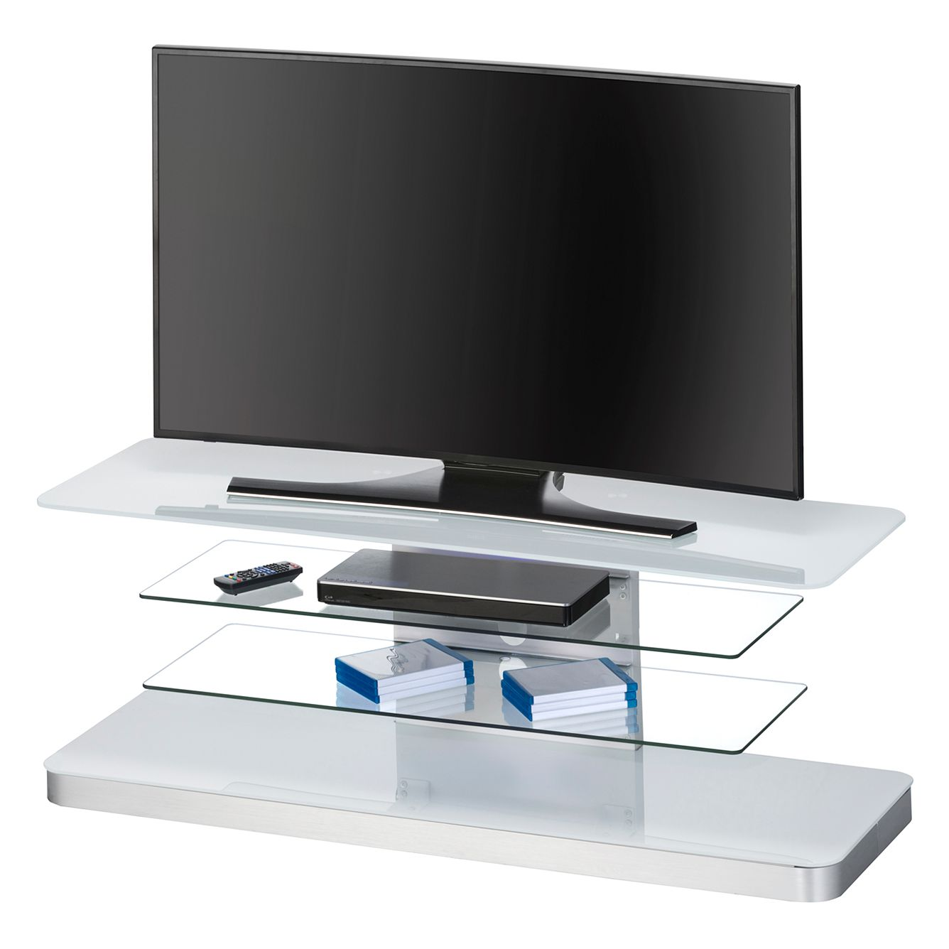 tv rack iserlohn wei maja m bel g nstig. Black Bedroom Furniture Sets. Home Design Ideas