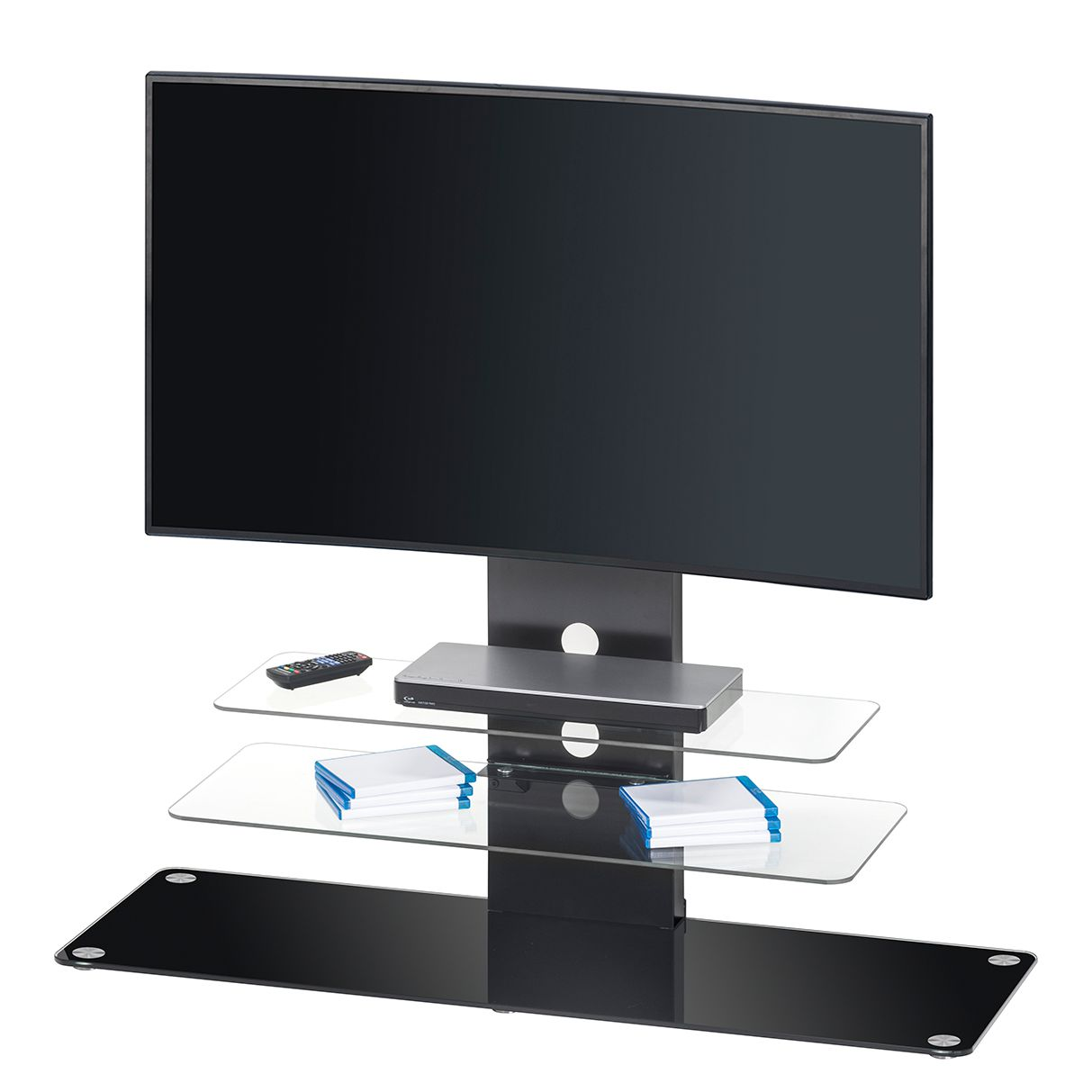 tv m bel schwarz preisvergleich die besten angebote online kaufen. Black Bedroom Furniture Sets. Home Design Ideas