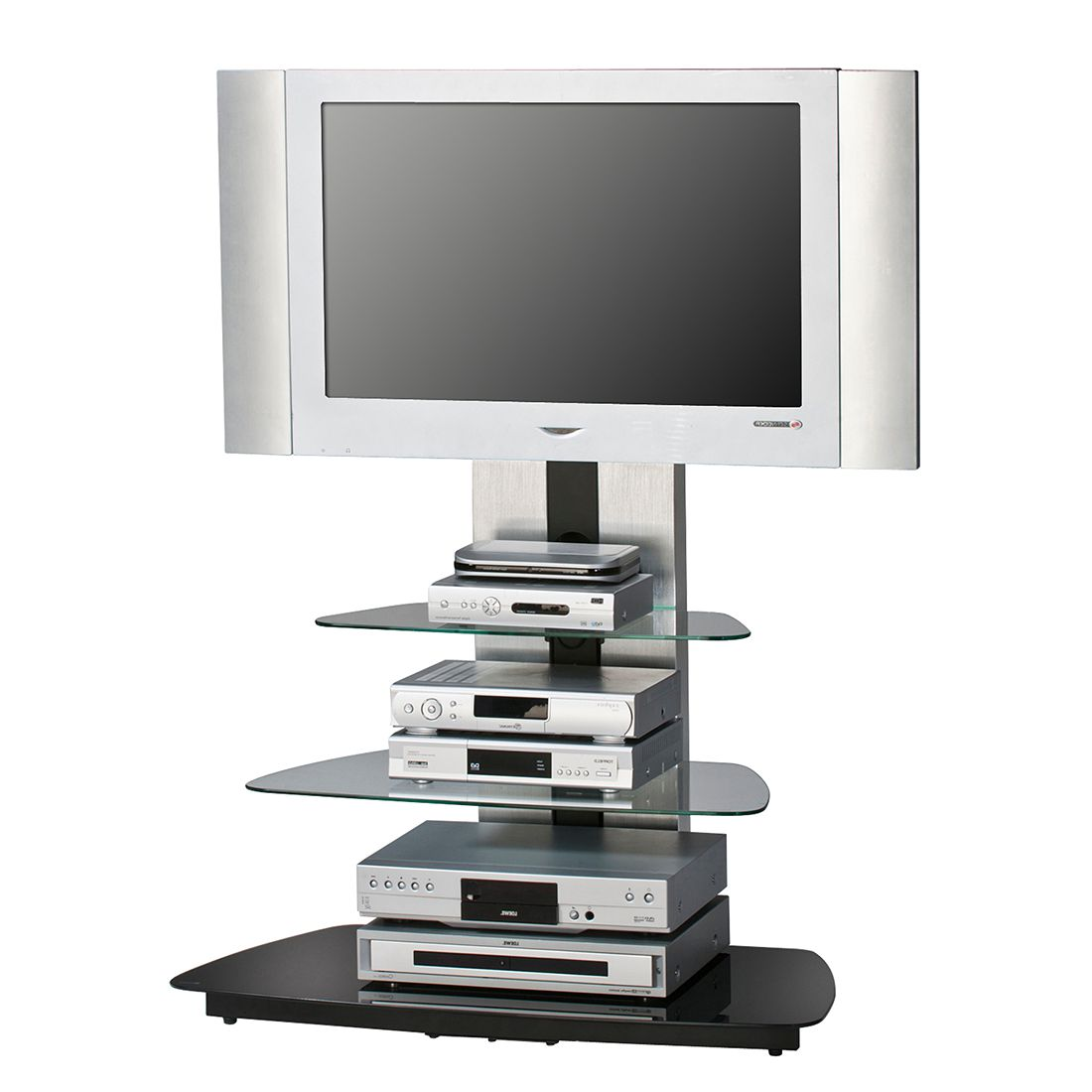 tv rack glas preisvergleich die besten angebote online. Black Bedroom Furniture Sets. Home Design Ideas