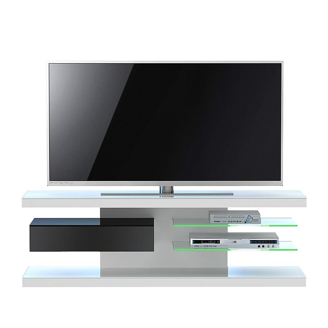 TV-Rack SL 660 - Weiß / Schwarz, Jahnke