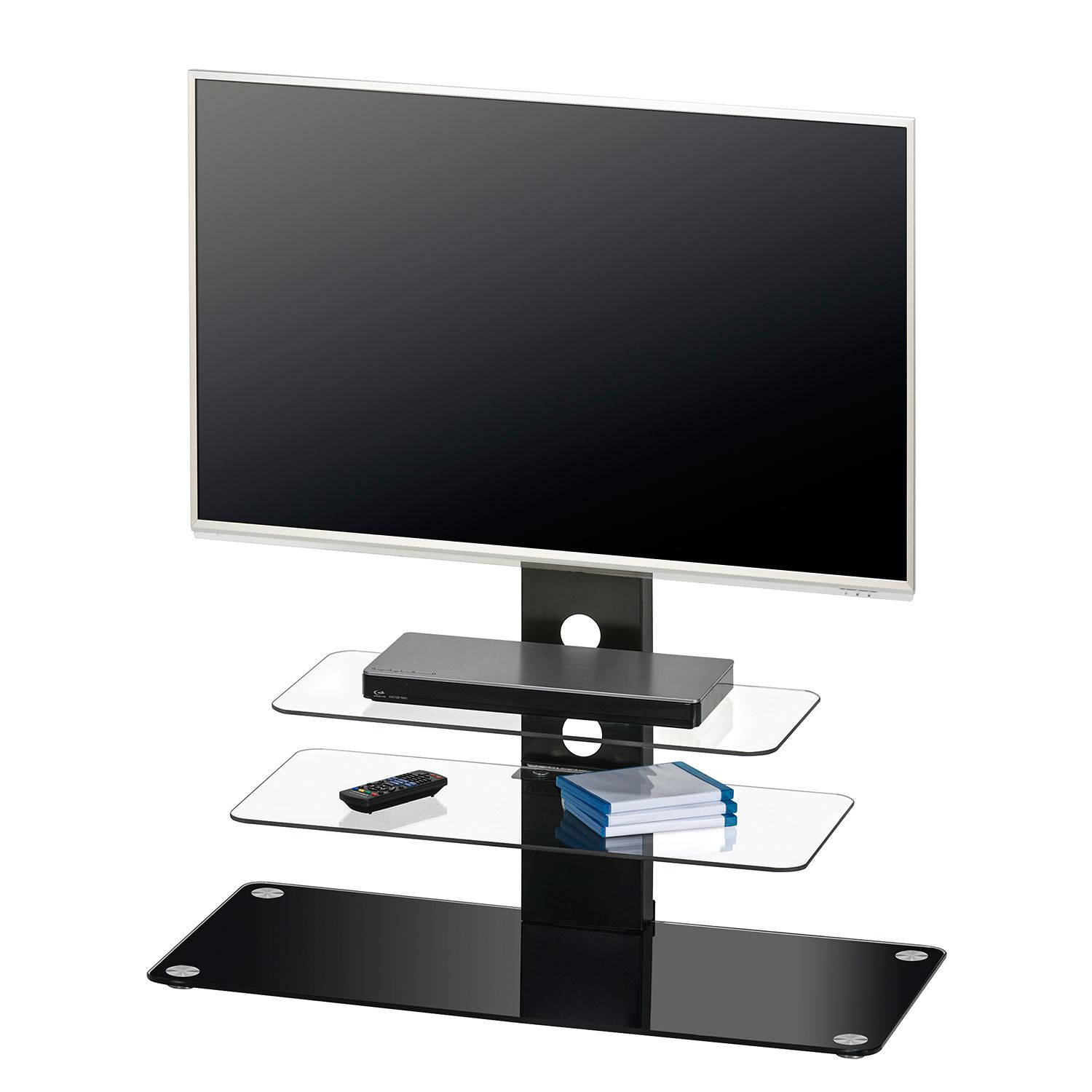 rack tv halterung glas preisvergleich die besten. Black Bedroom Furniture Sets. Home Design Ideas