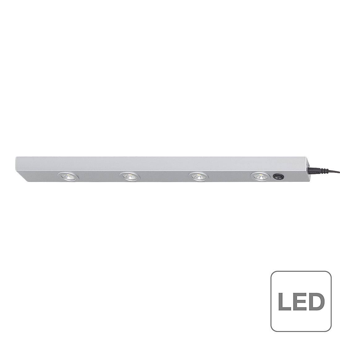 energie  A+, Inbouwlamp Norbert - 4 lichtbronnen, Brilliant