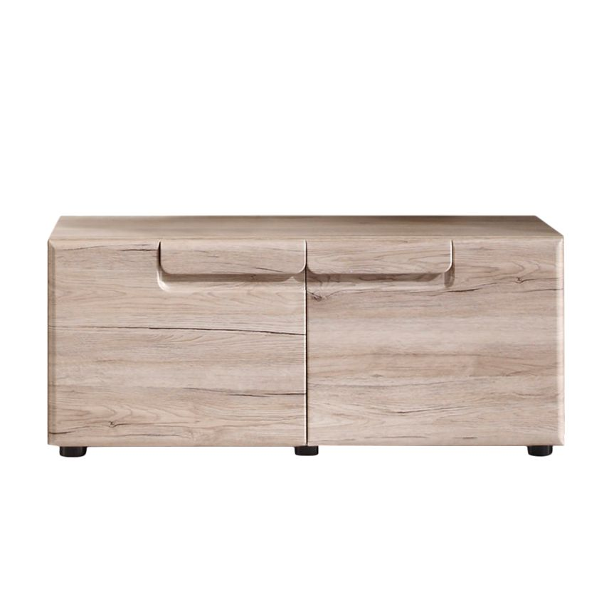 Home 24 - Eek a+, armoire basse lindley - imitation chêne sanremo, trendteam