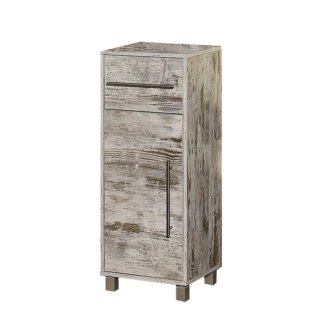 Badkamerkastje Moncton   1 deurs   antiek eikenhoutkleurig_ Schildmeyer