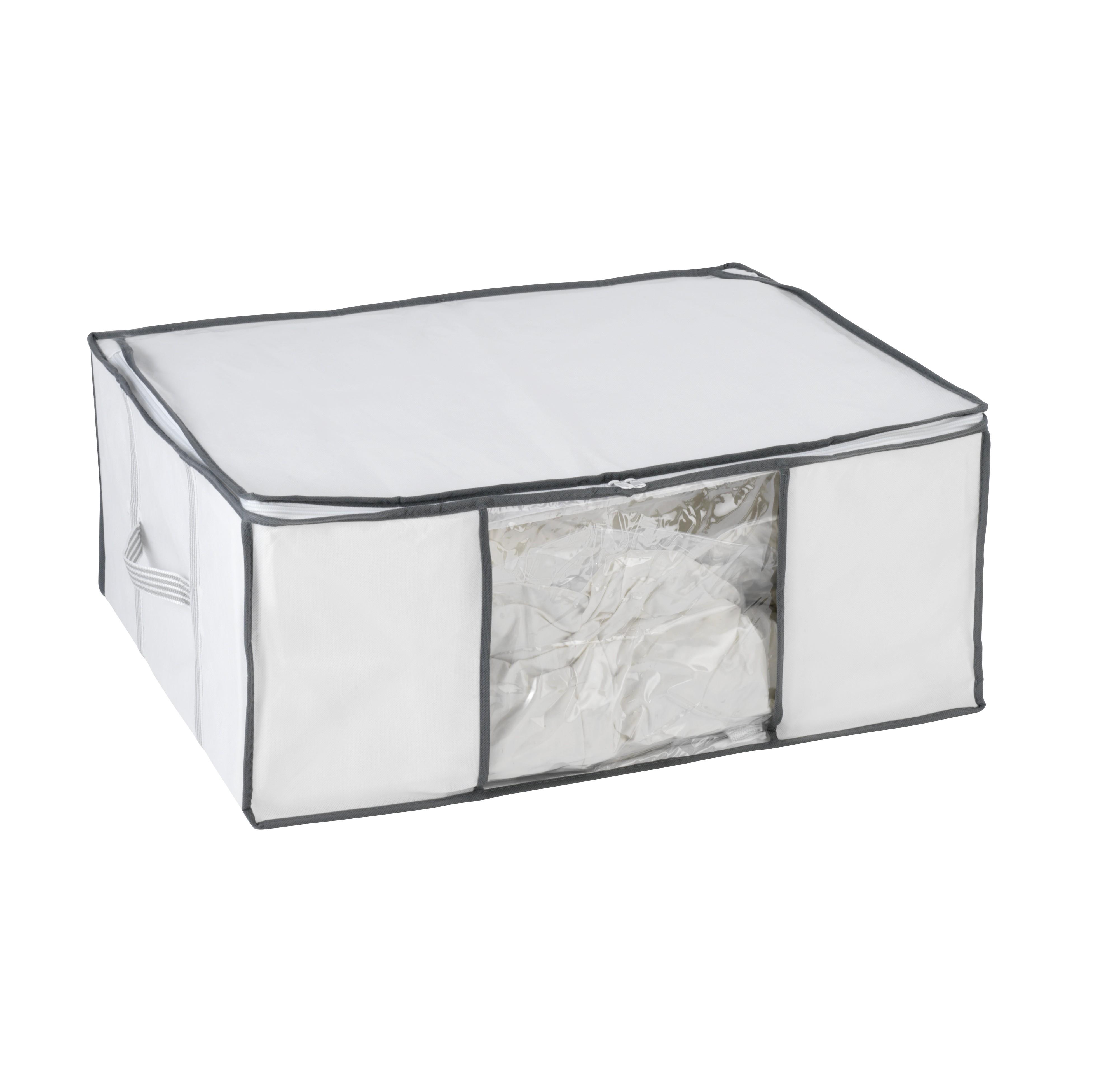 wenko housse de rangement sous vide d air prix et offres. Black Bedroom Furniture Sets. Home Design Ideas