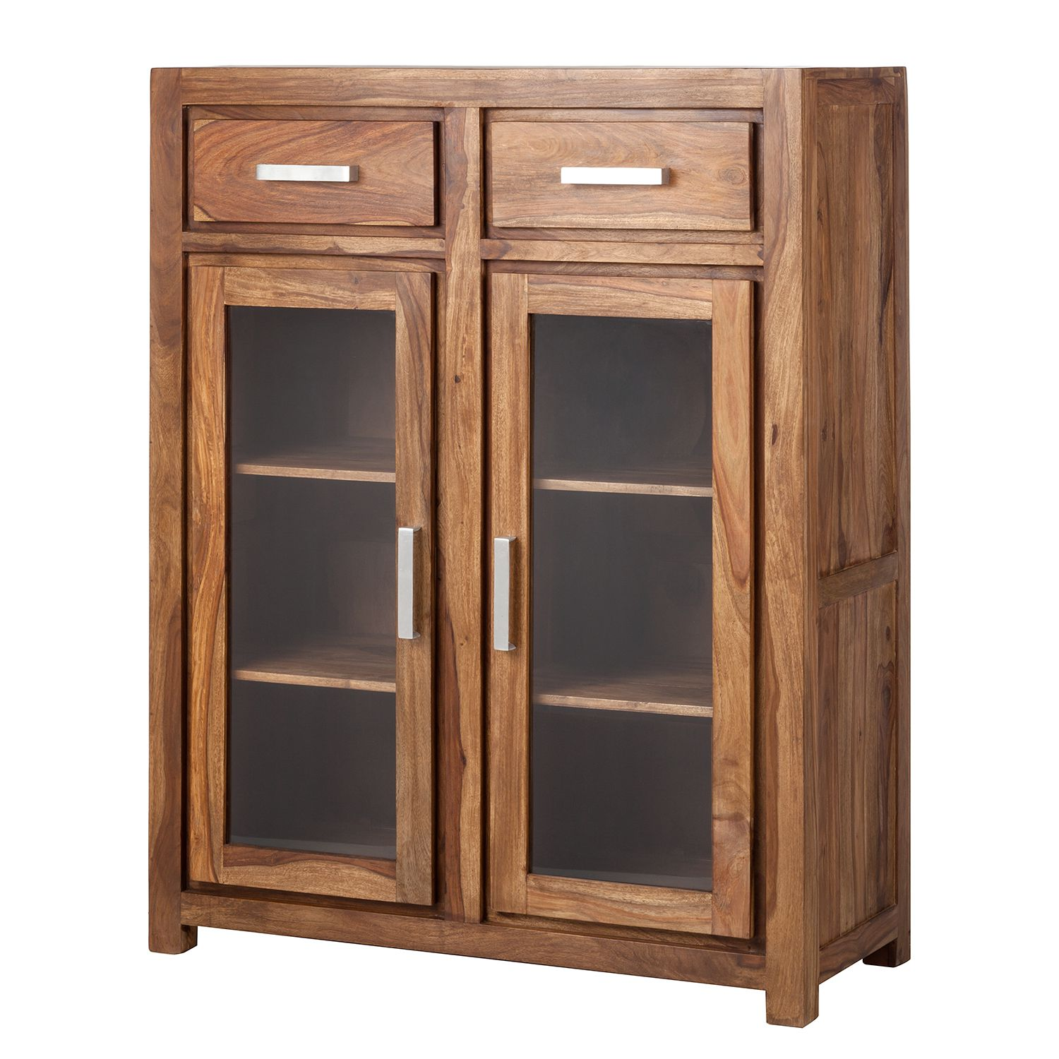 Armoire Ohio - Sheesham massif, ars manufacti