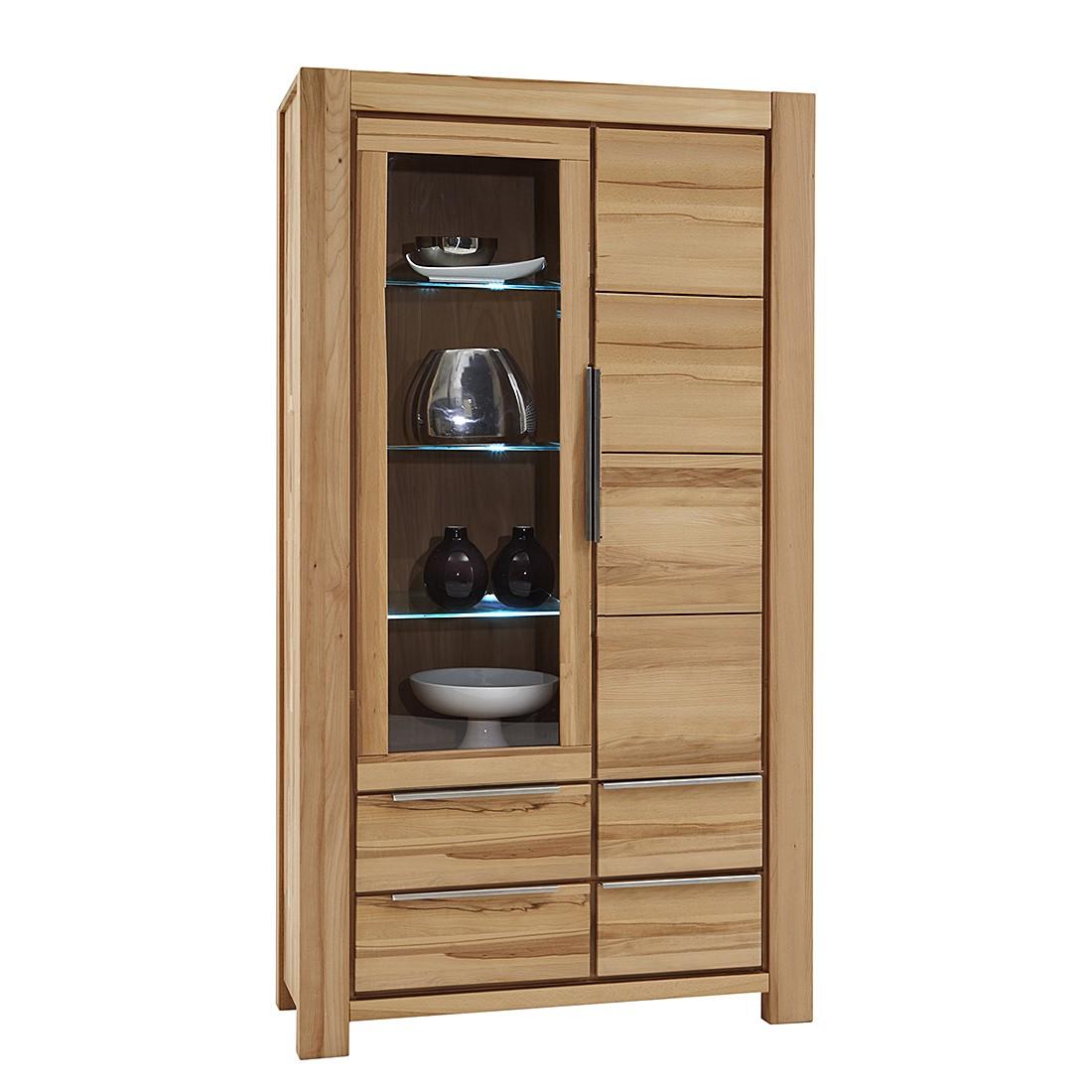 vitrine pia iii kernbuche massiv ge lt ars natura ars. Black Bedroom Furniture Sets. Home Design Ideas