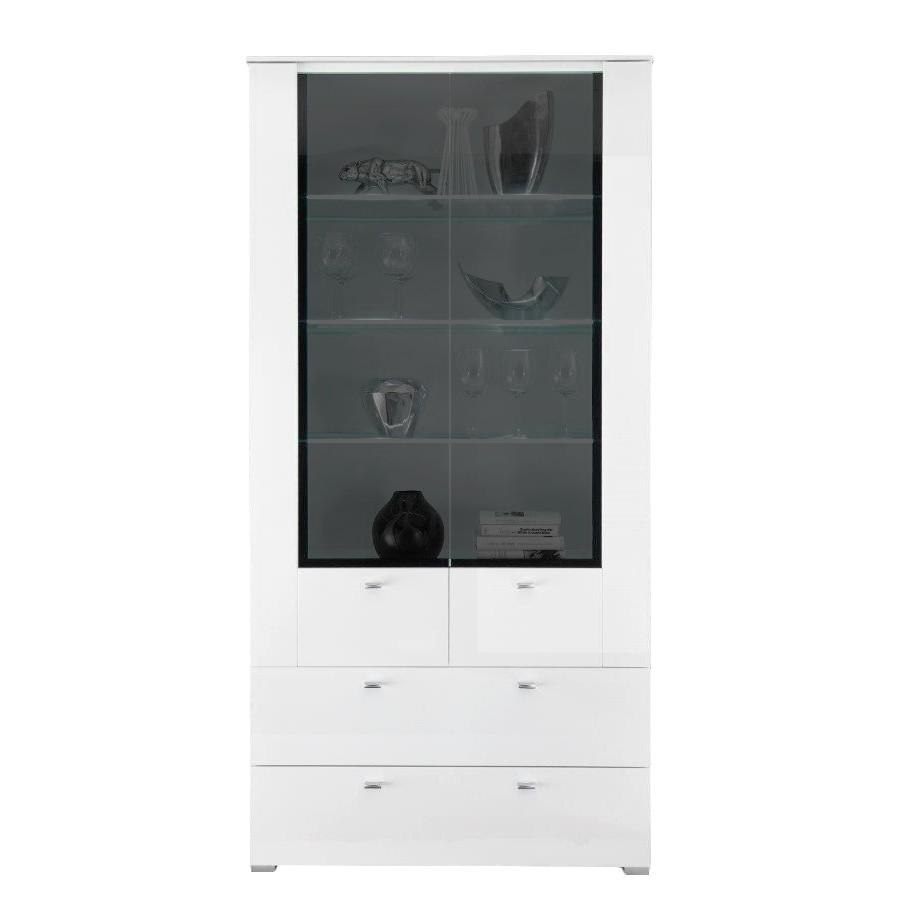 vitrinenschrank nussbaum preisvergleich die besten angebote online kaufen. Black Bedroom Furniture Sets. Home Design Ideas