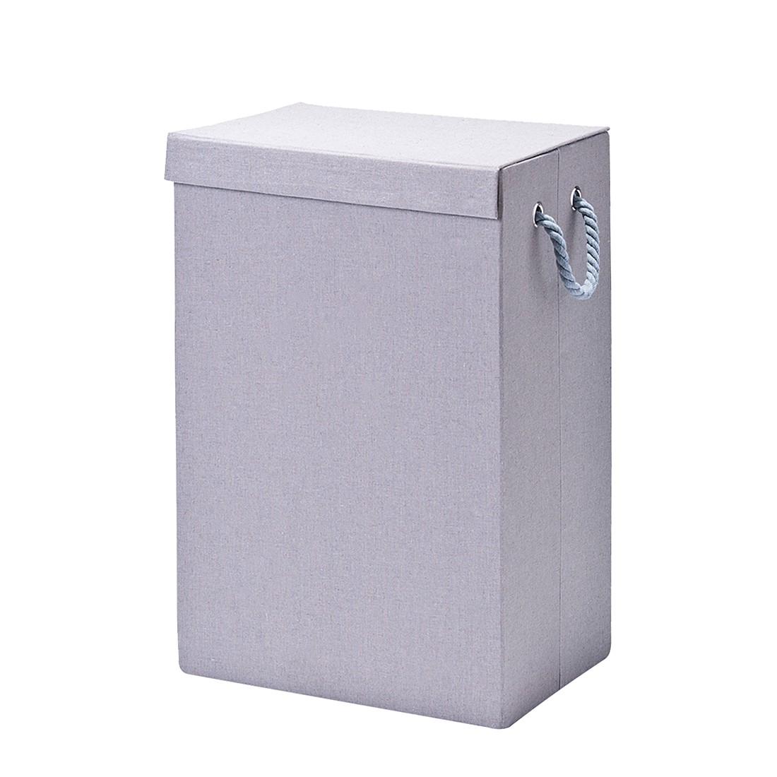 Wäschesammler - Grau, faltbar, Zeller