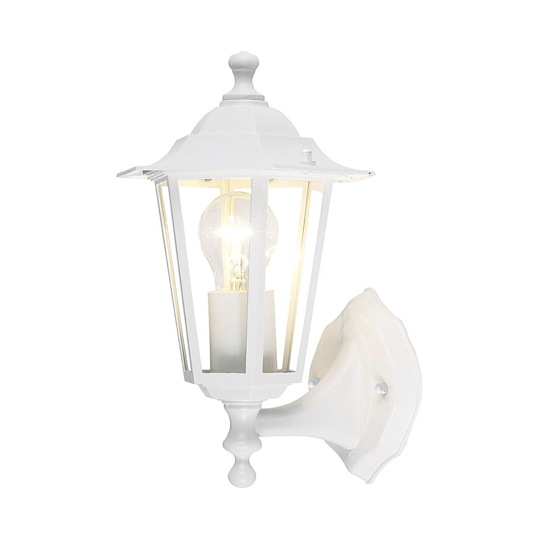 EEK A++, Außenleuchte Sally - Metall & Kunststoff - Weiß - 1-fl bei Home24 - Gartenmöbel