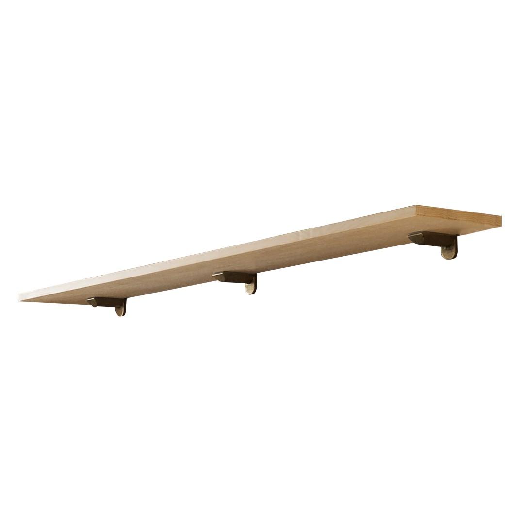 Wandplank Breddin - massief pijnboomhout - 170cm, Maison Belfort