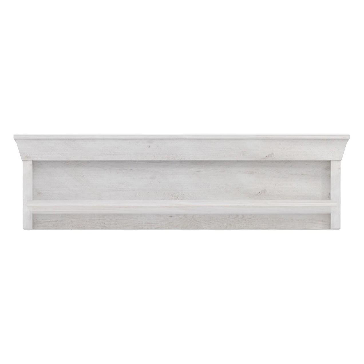 Wandplank Brienz - witte pijnboomhouten look, Maison Belfort
