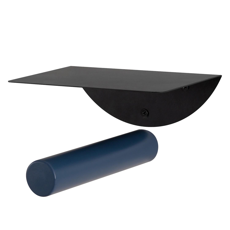 Wandboard Clomeo - Birke massiv - Blau / Schwarz