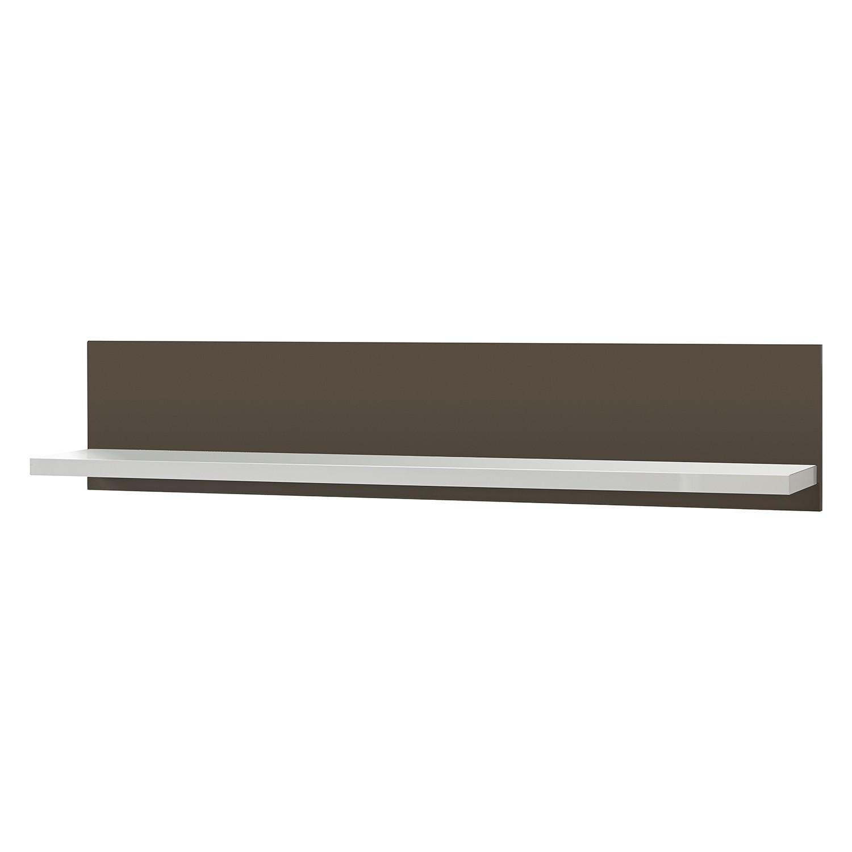 Wandplank Kushiro grijs-wit 124cm, Modoform u20ac 79.99 bij Home24