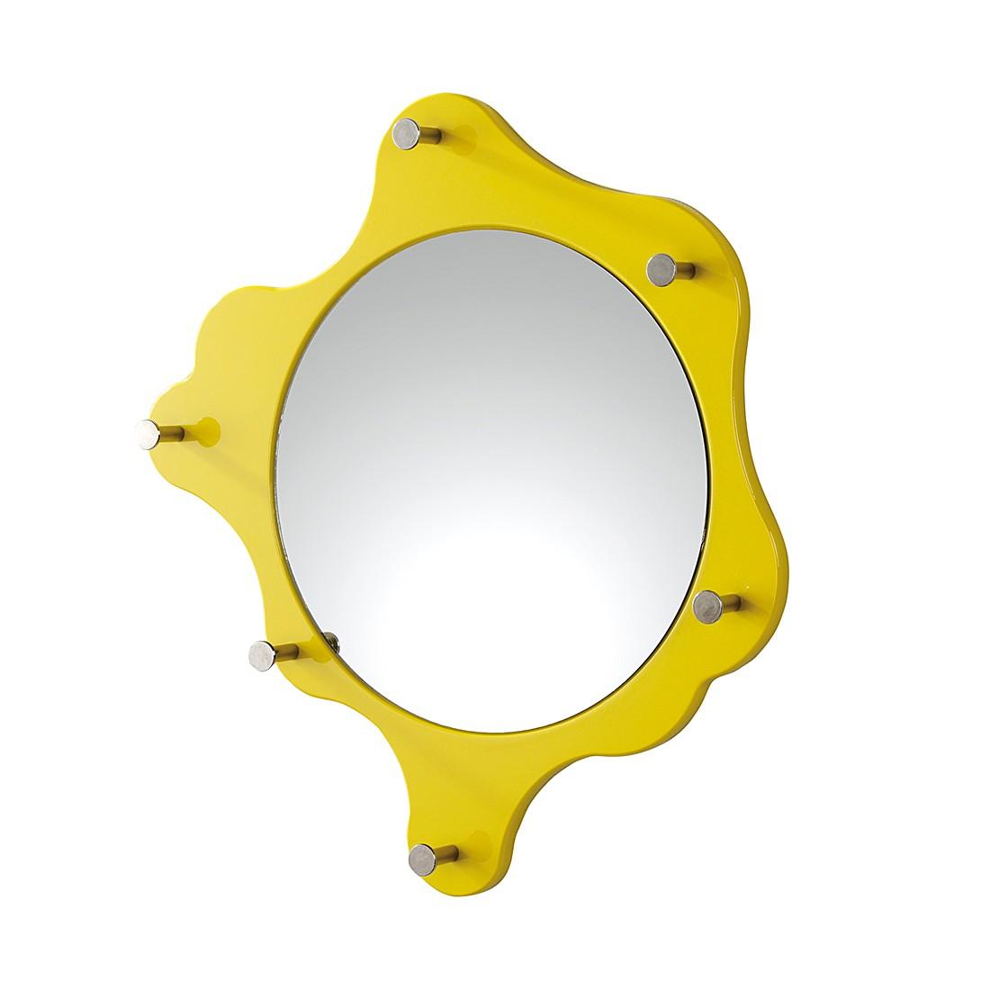 Kapstok Bacillu - hoogglans geel, Home Design