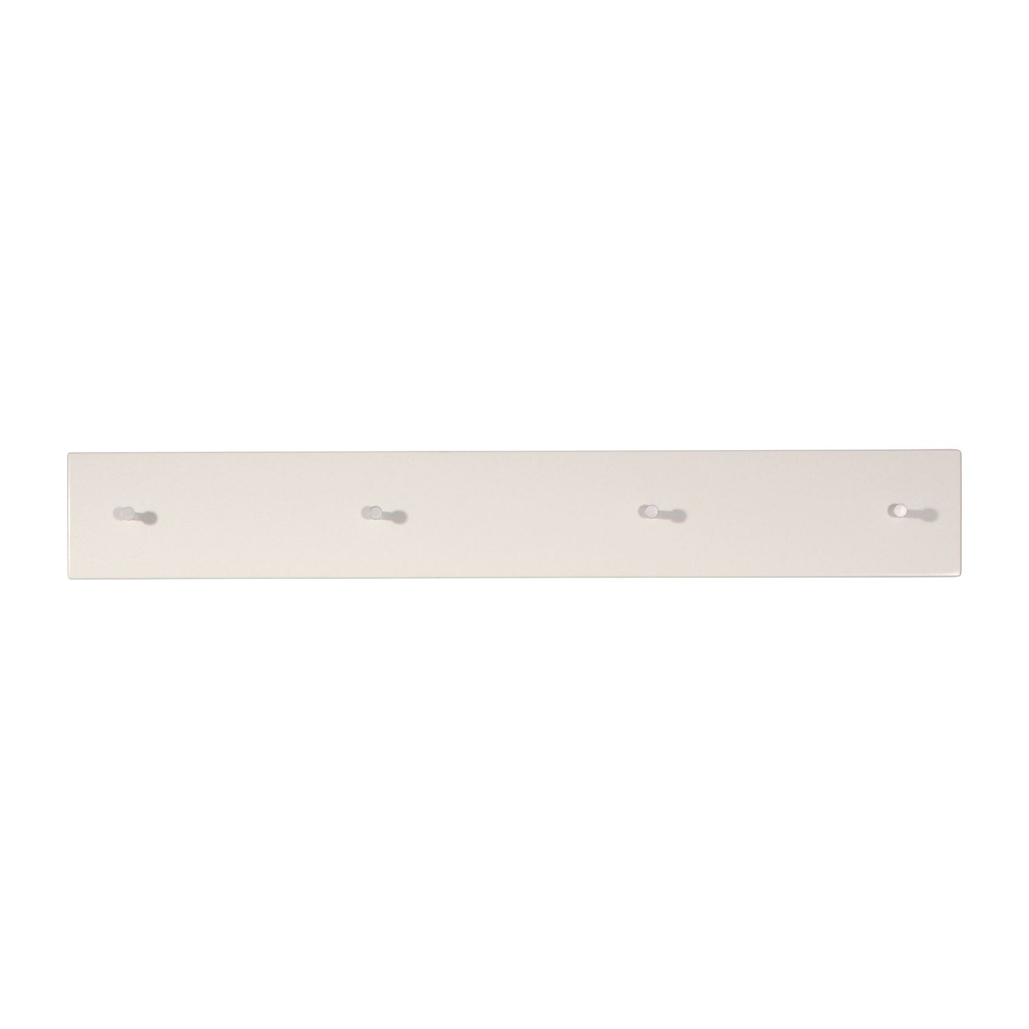 Home 24 - Portemanteau mural colorado - blanc brillant, top square