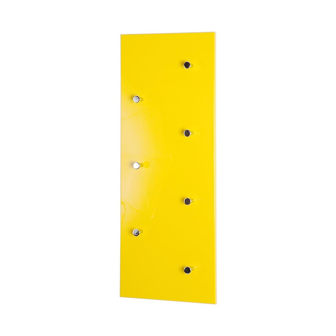 Home 24 - Portemanteau mural proka - jaune brillant, home design