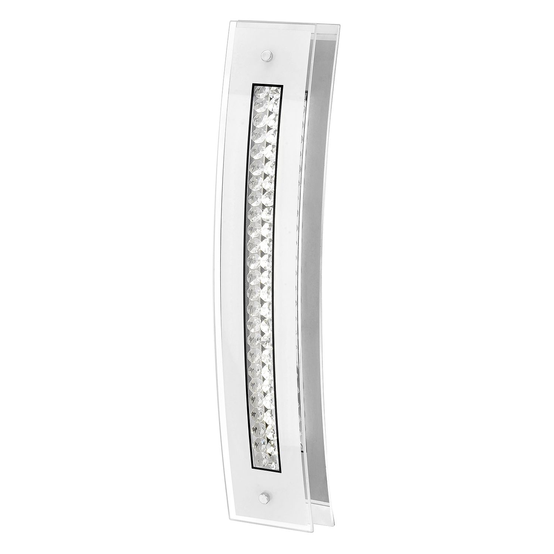 energie  A+, LED-wandlamp Goran - ijzer zilverkleurig, Paul Neuhaus