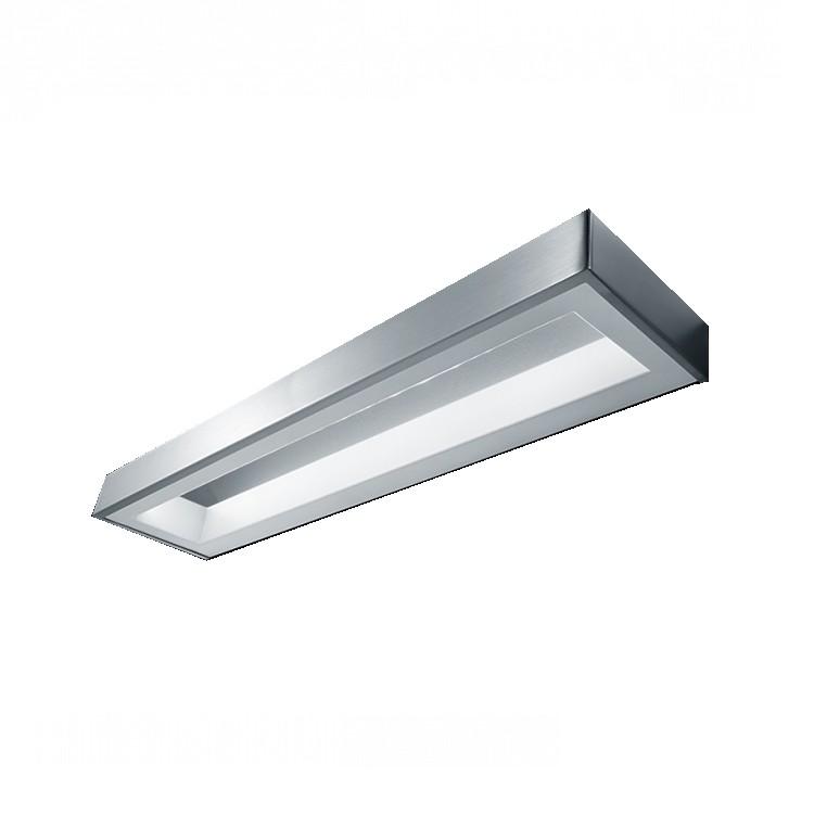 energie  A++, Wandlamp Jocy - zilverkleurig aluminium, Helestra