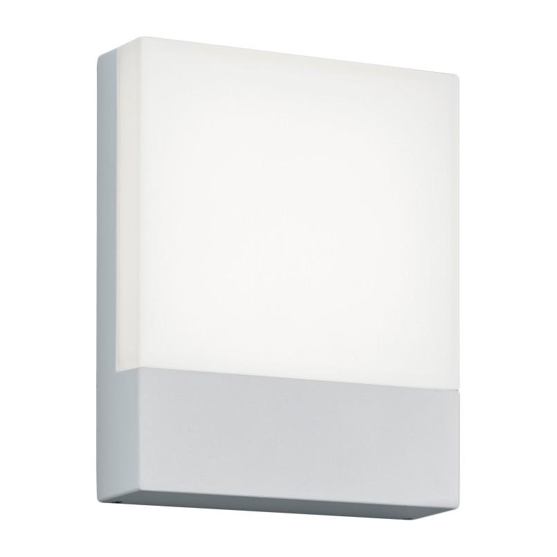 EEK A+, LED-Wandleuchte Pecos - Acrylglas / Aluminium - 1-flammig - Weiß, Trio