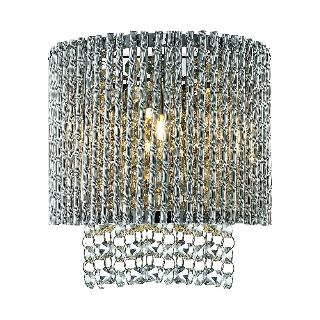 energie  A++, Wandlamp Prince - stijllicht metaal/glas 1 lichtbron, Sorpetaler