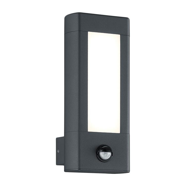 energie  A+, LED-wandlamp Rhine II - plexiglas/aluminium - 2 lichtbronnen, Trio