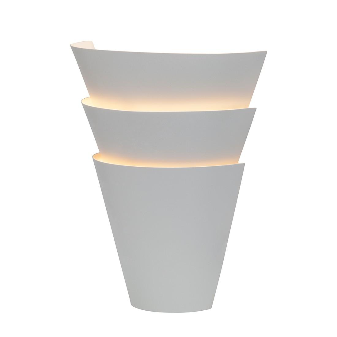 energie  A++, Wandlamp Ship - metaal 1 lichtbron - Wit, Brilliant