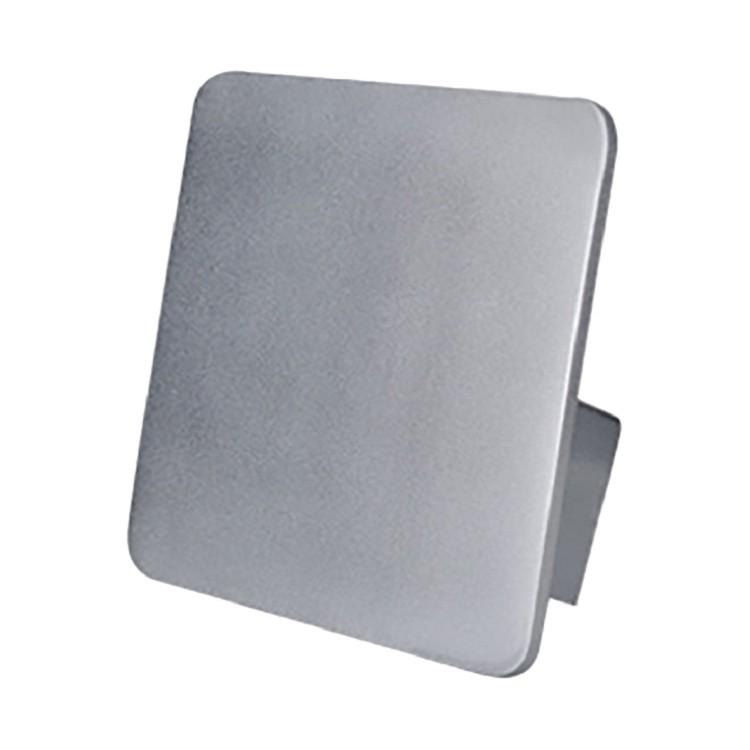 energie  A+, Wandlamp Stan - aluminium wit, Näve