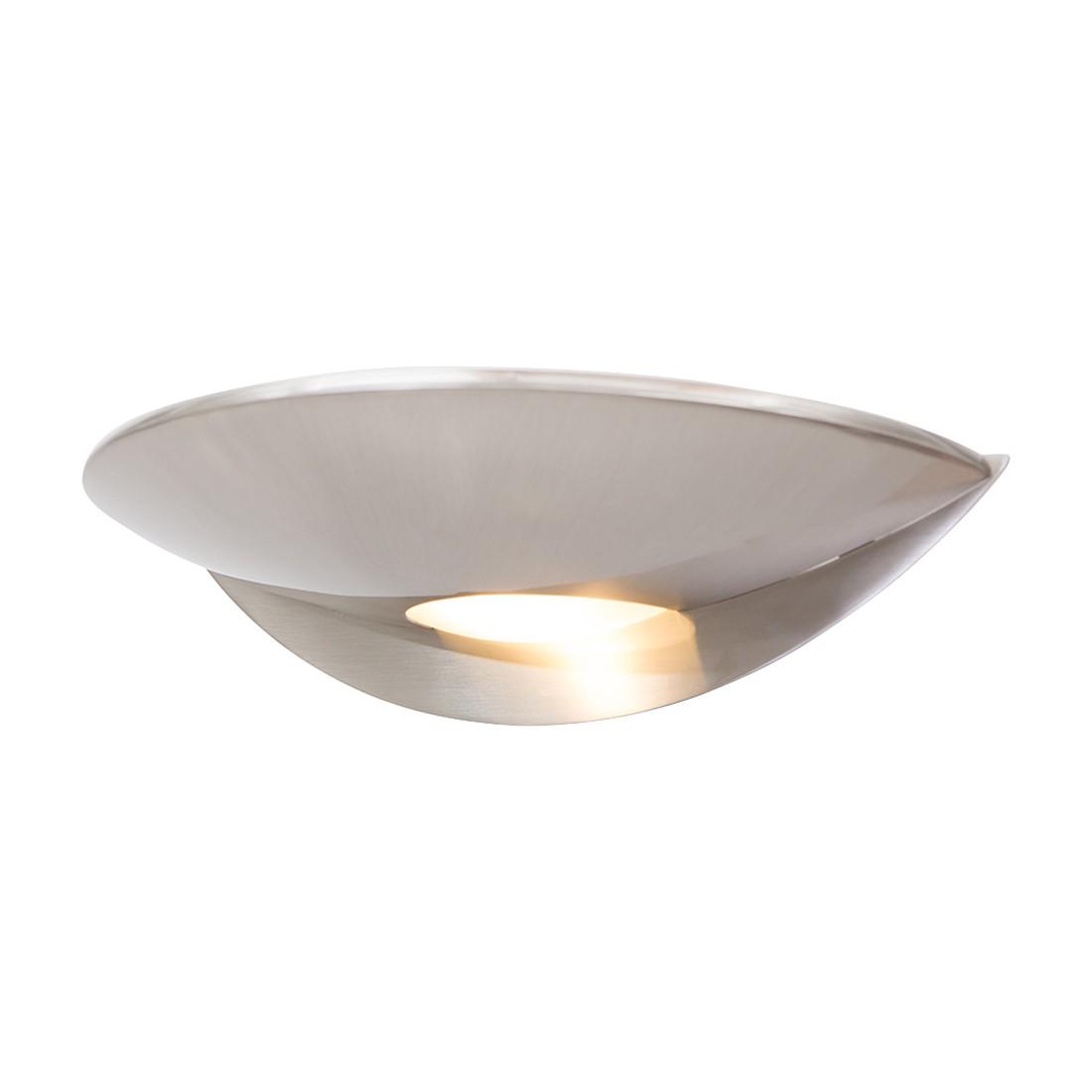energie  A+, LED-wandlamp Tamara - 2 lichtbronnen mat nikkelkleurig, Steinhauer