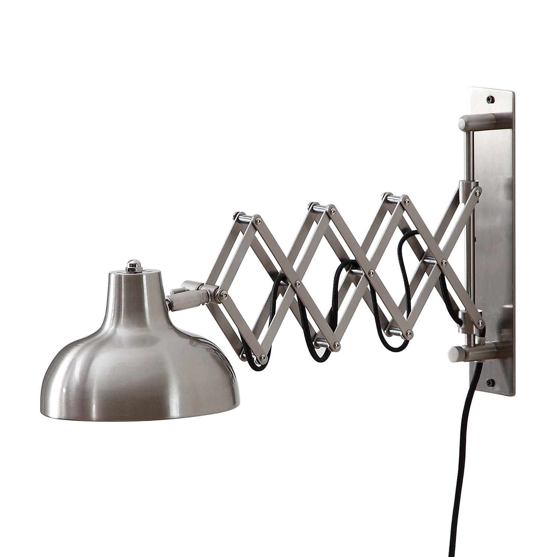 Wandleuchte Triangel - Eisen 1-flammig Nickel Sale Angebote Haasow