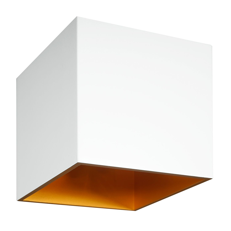 Halogen-Wandleuchte Yeye I - Aluminium - 1-flammig
