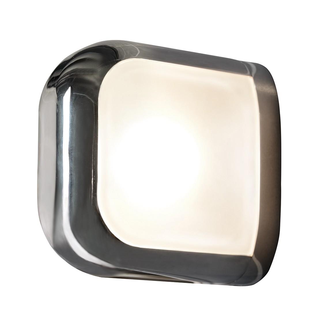 energie  C, Wandlamp Zinta - metaal/wit glas 1 lichtbron, Herstal