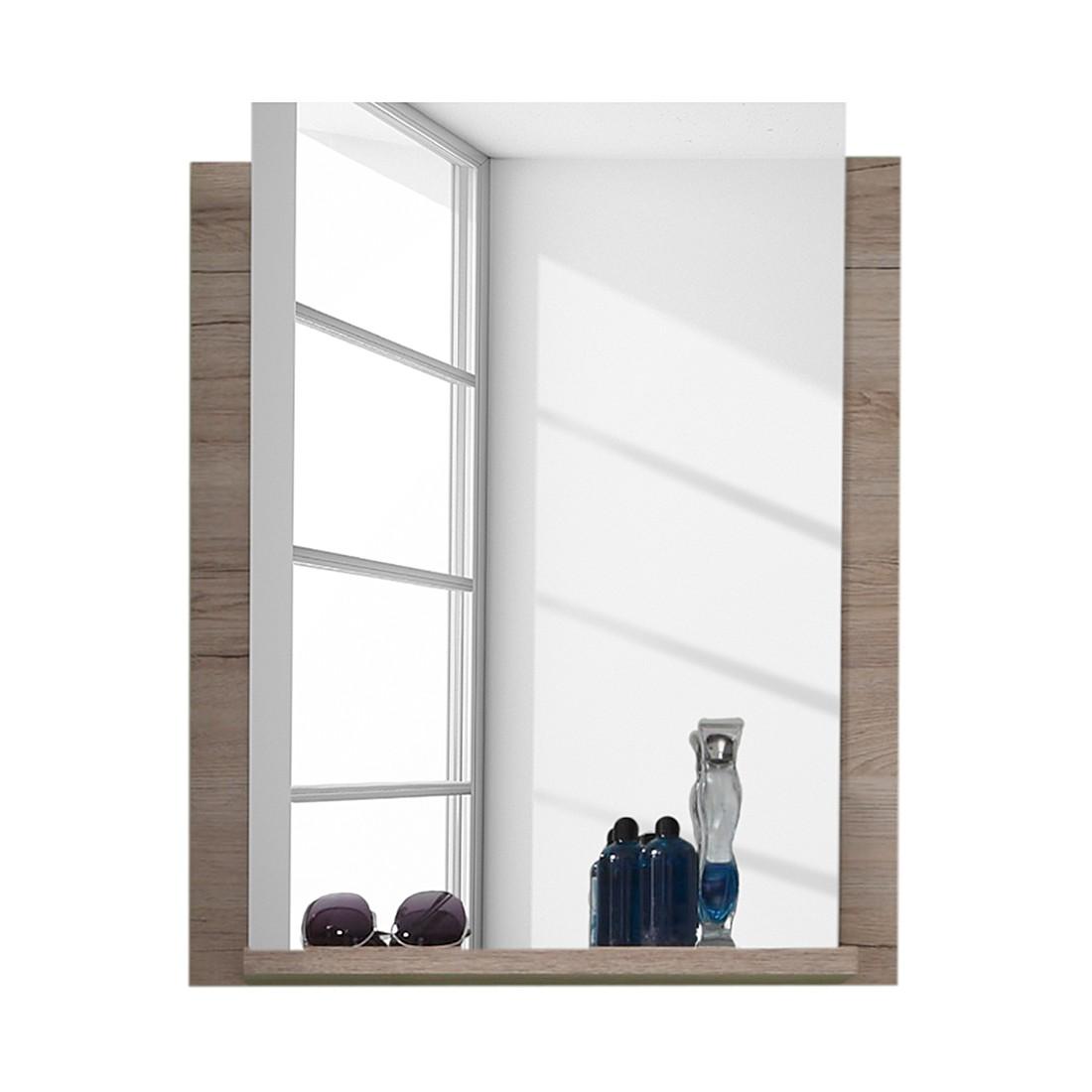 Wandspiegel Dano   San Remo eikenhouten look_ Trendteam