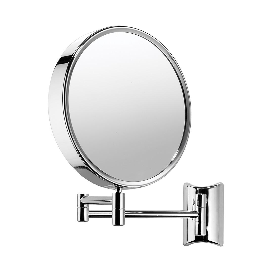 Miroir mural Lola - Chrome Avec grossissement x7, Nicol Wohnausstattungen