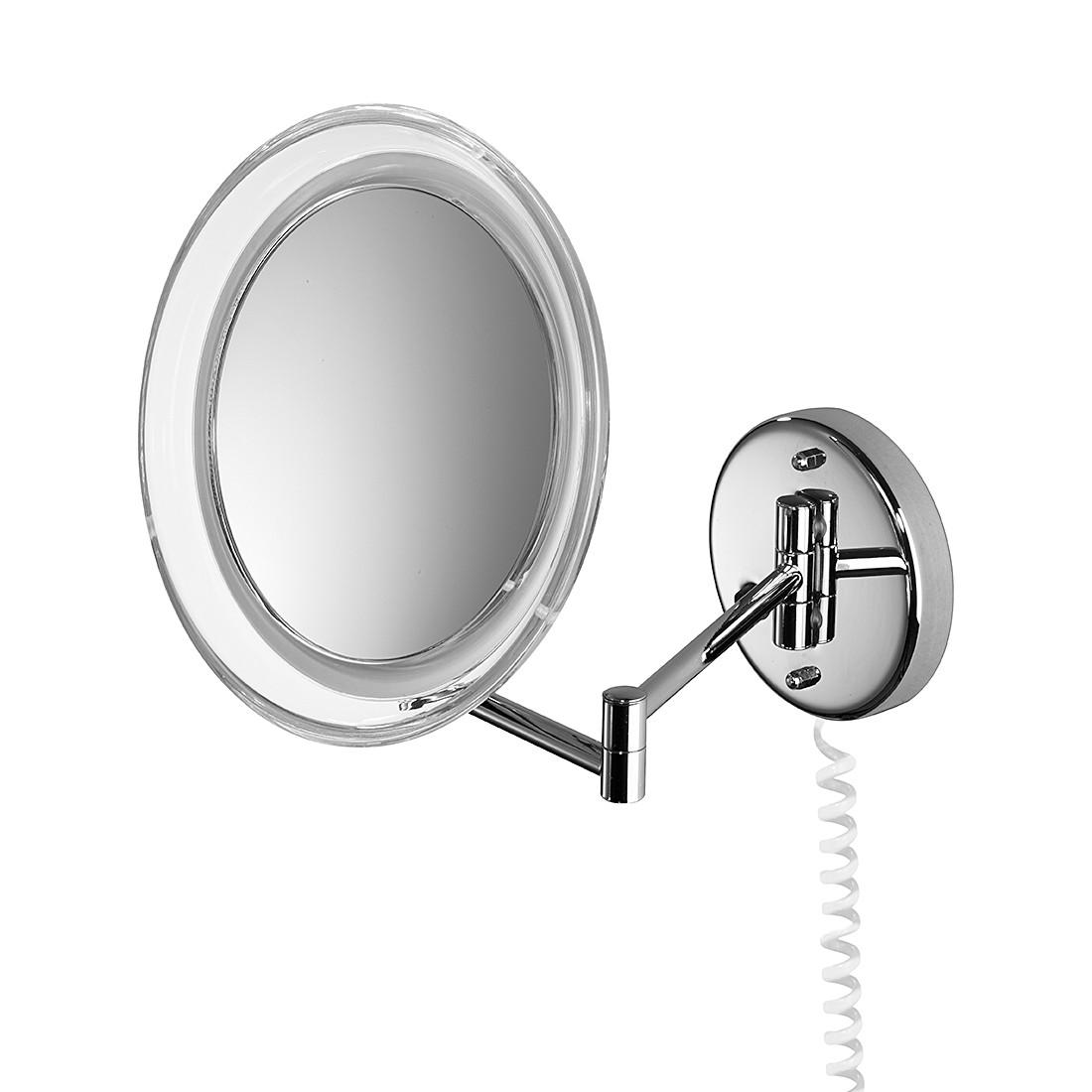 Miroir mural Marie - Chrome Avec grossissement x 5, Nicol Wohnausstattungen