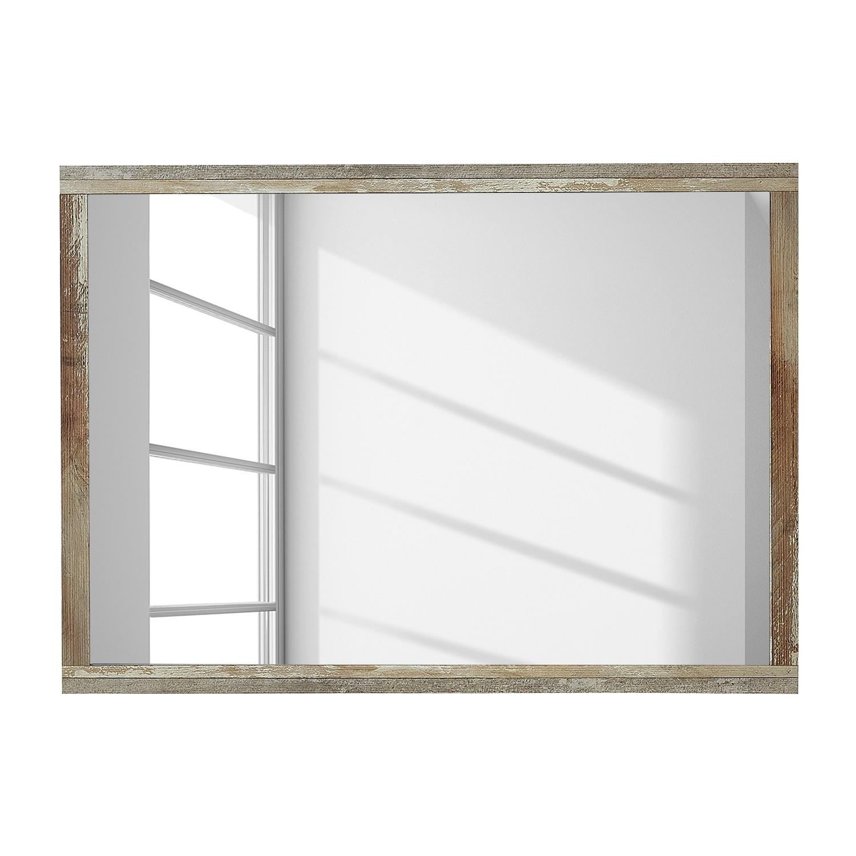 Wandspiegel Tapara - bruin/grijs, roomscape