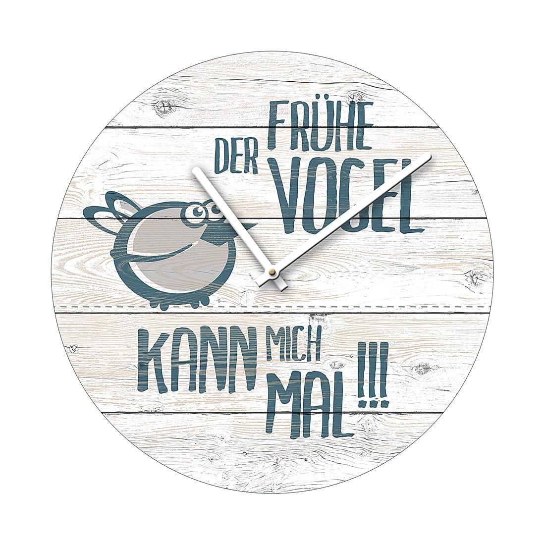 Image of Color orologio da parete Der frühe Vogel Orologio da parete Der frühe Vogel, Pro Art