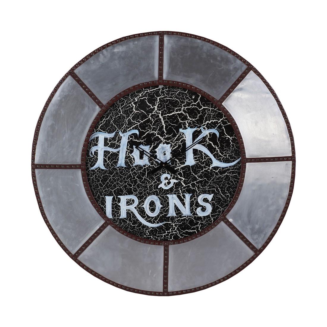 Home 24 - Horloge murale portilla - argenté, furnlab