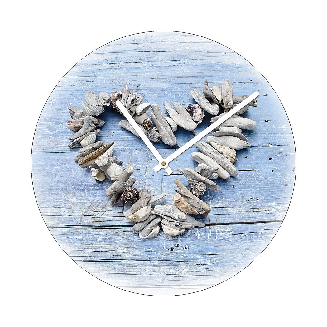 Home 24 - Horloge murale wooden love i, pro art