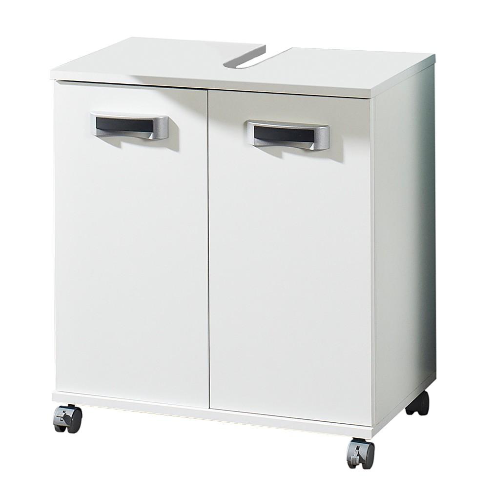Mobiletto da lavabo Granby - Con due ante, bianco, Schildmeyer