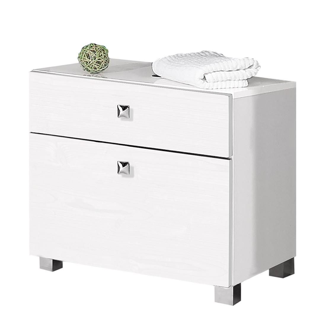 Mobile per lavabo Montreal - Bianco lucido Mobile da lavabo Montreal - Bianco lucido, Schildmeyer