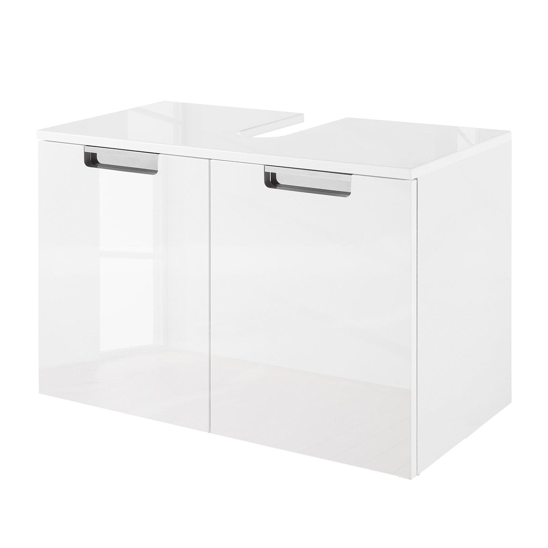 Armadietto da lavabo Romana - Bianco lucido, Schildmeyer