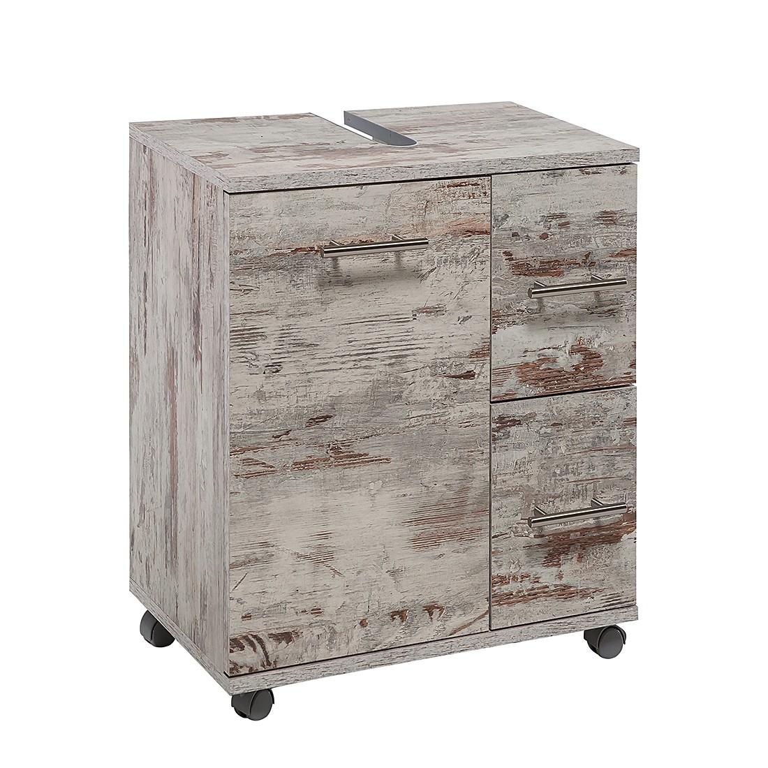 Mobiletto lavabo Smilla - Effetto quercia antica, Schildmeyer